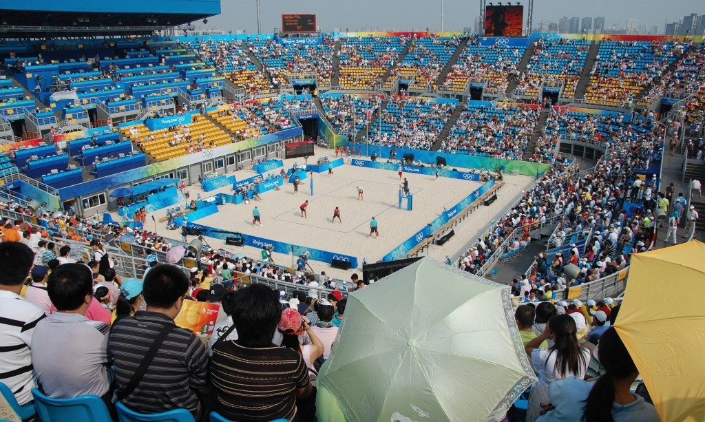 Beach Volleyball Stadium